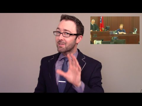 Body Language Tips for Testifying in Court - Vlog
