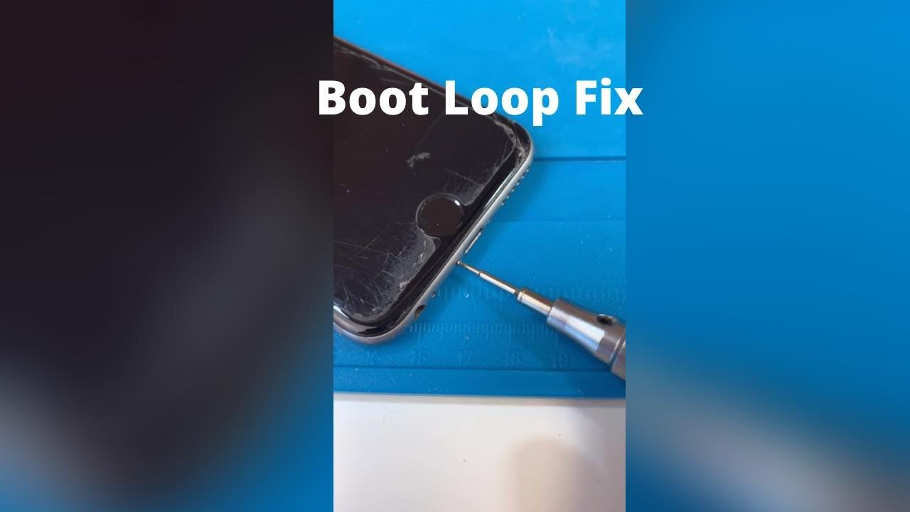 Mail in - iPhone 6 Stuck in a Boot Loop.. Let's Fix it Up #Shorts