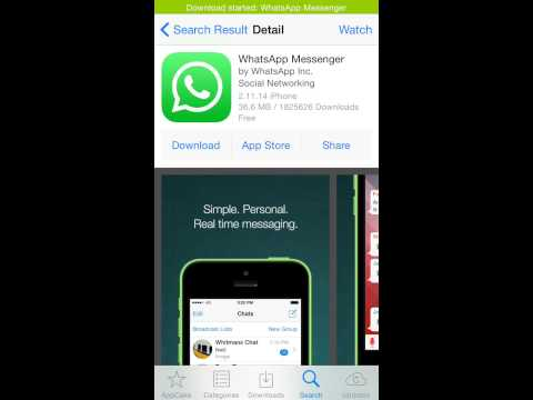 How to download whatsapp on iPod/iPad with jailbreak