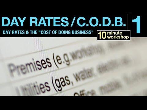 Day Rates & CODB, P1 of 2, #171
