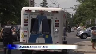 Police chase ambulance in six hour high speed pursuit