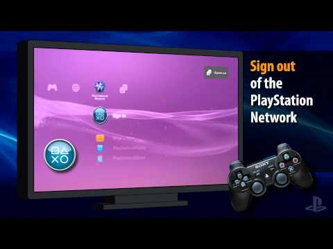 Reset PSN Password on a PS3