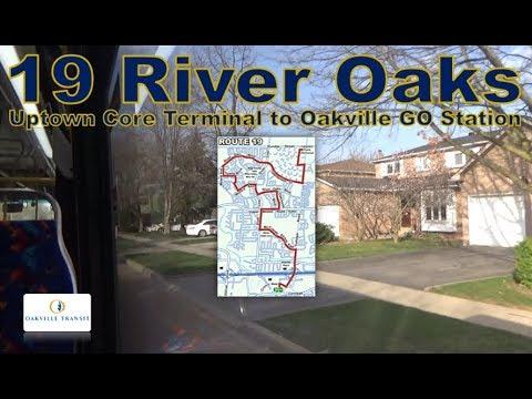 19 River Oaks - Oakville Transit 2016 Nova Bus LFS 1706 (Uptown Core Terminal to Oakville GO Stn)