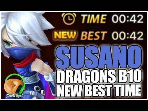 SUMMONERS WAR: New Dragons B10 Record Time with SUSANO