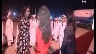 Download Marokkos Prinzessin Lalla #Salma, empfing heute um Mitternacht Amerikas First Lady #Michelle Obama Video