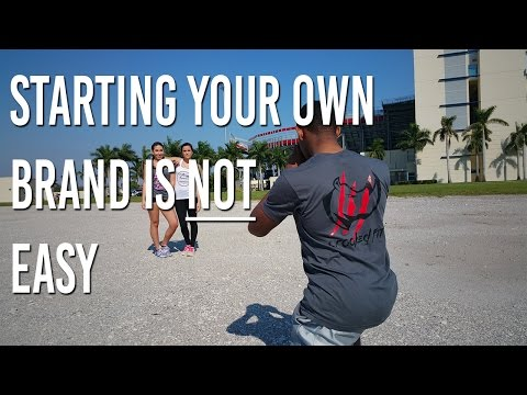 Starting Your Own Clothing Brand is NOT Easy | Crooked Fit Apparel