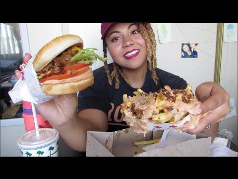 In-N-Out Mukbang | Cheeseburger, Animal Style Fries, and a Shake