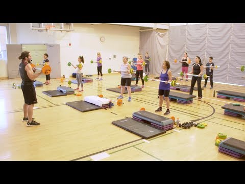 MuscleFit: the efficient, full-body strength training class