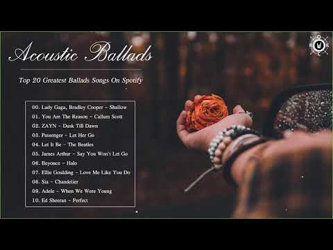 Xxx Mp4 Acoustic Ballads Collection Top 20 Greatest Ballads Songs On Spotify 3gp Sex