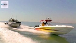 Customs and Border Protection - Boat Chase Demo