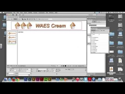 Week 04/02 - Creating LINKS in Adobe Dreamweaver