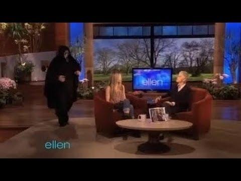 Ellen Scares Jennifer Aniston on Ellen shows