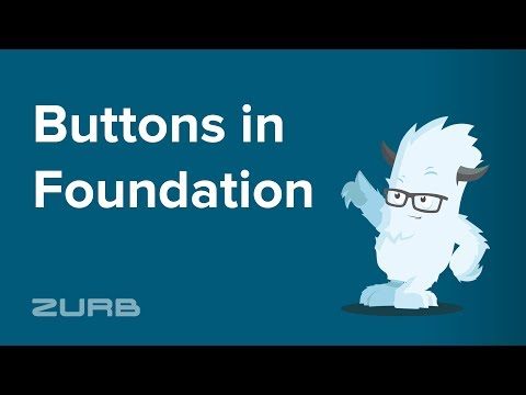 🔳 Buttons | Foundation 6 by ZURB