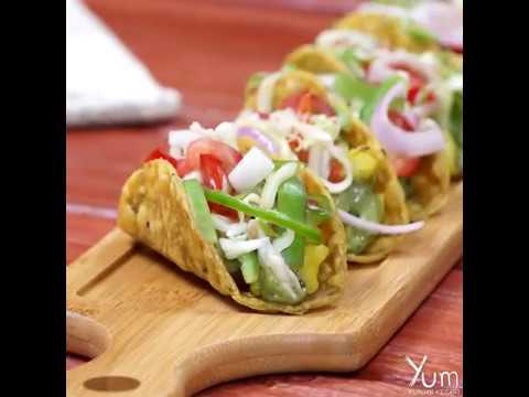 Indian Style Veg Tacos