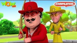 Motu Patlu - Non stop 3 episodes   3D Animation for kids - #57