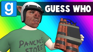 Gmod Guess Who Funny Moments - Cursed Casino Mirror (Garry