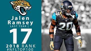 #17: Jalen Ramsey (CB, Jaguars) | Top 100 Players of 2018 | NFL