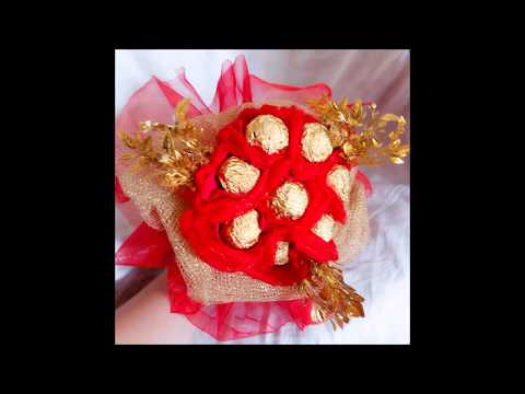 DIY-CHOCOLATE BOUQUET-how to make chocolate bouquet for ur loved ones