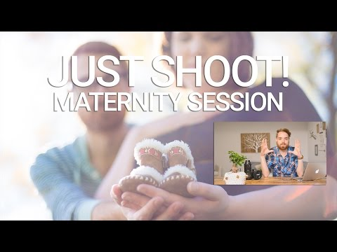 Just Shoot! Maternity Photo Session Review & Tips