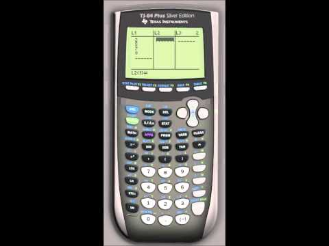 Linear Regression - TI-84