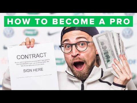 HOW TO BECOME A PRO FOOTBALL PLAYER