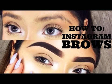 HOW TO INSTAGRAM BROWS | ViiRDii