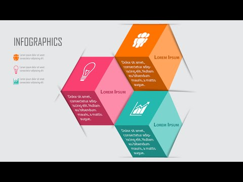 Illustrator CC Tutorial | 3D Graphic Design | Infographic Design 03
