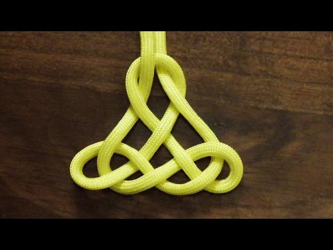 How To Tie A Decorative Paracord Oriental Pendant Knot - WhyKnot
