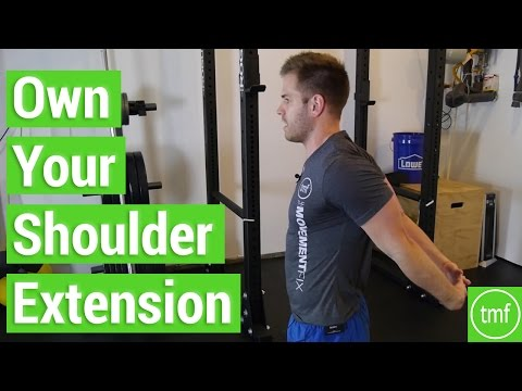 Own Your Shoulder Extension | Week 61 | Movement Fix Monday | Dr. Ryan DeBell
