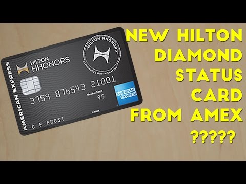 American Express Releasing a Hilton Diamond Credit Card?