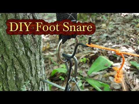 DIY Powered Foot Snare
