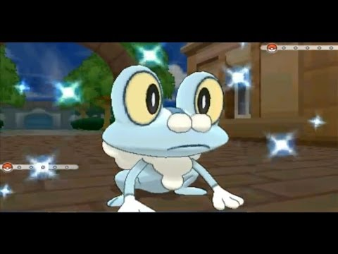 LIVE! Shiny Froakie In Pokemon X/Y after 2,605 SR's! (w/facecam) [Capture Card]