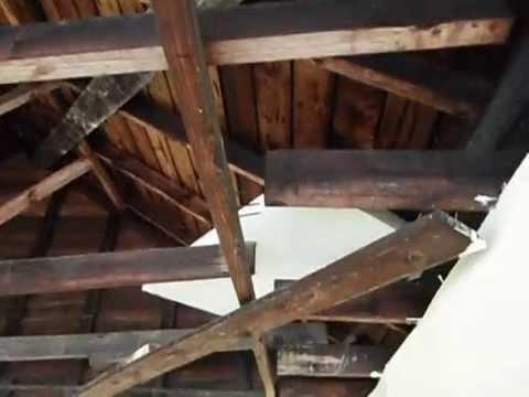 Sagging garage trusses in Charlotte NC