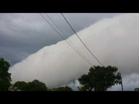 WATCH: Magnificent shelf cloud rolls over Florida 2017 UHD 4K Video