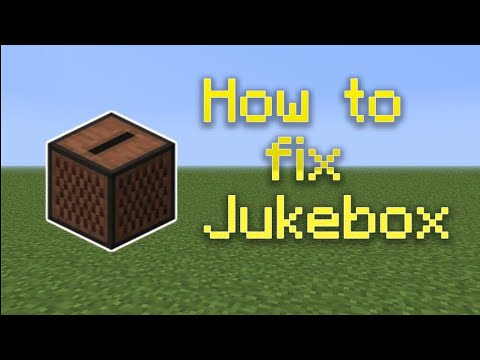 How to fix juke box in mcpe 1.2 | MrSlimeGuy