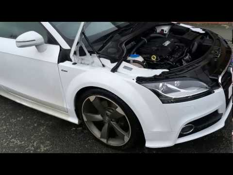 AUDI TT - How to clean engine bay - Steam Cleaning Leeds.
