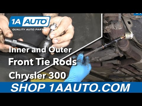 How to Replace Inner and Outer Tie Rods 06 Chrysler 300