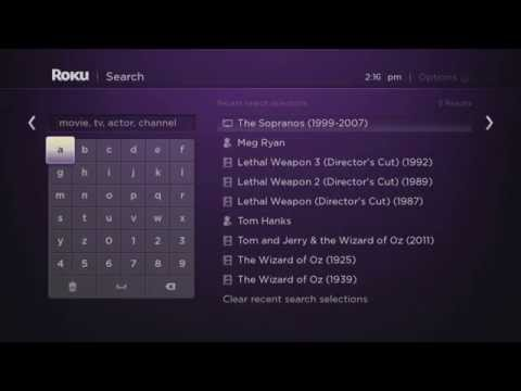 How to find movies and TV Shows on Roku with Search