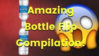 Best water bottle flips on YouTube! - Compilation -