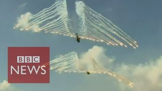 South Korea and US show off military strength - BBC News