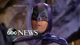 adam west known for playing the caped crusader has died