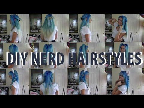 DIY NERD HAIR (Anime/Elf)   ChickRightHere