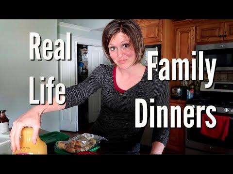 Real Life Family Dinners