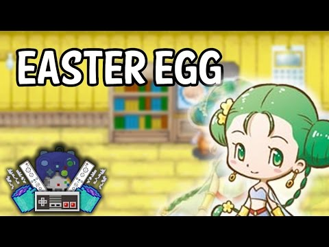 Harvest Moon Friends of Mineral Town ★ Easter Egg