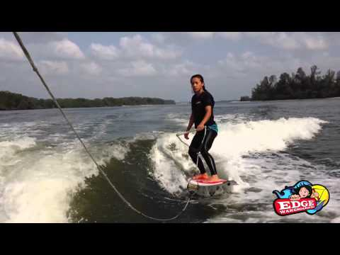 Wakesurfing Lesson 2: Riding On A Wake Surf Board