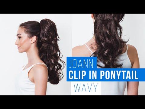 Joan Clip in Ponytail Tutorial