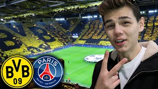 [HEFTIGE Stimmung] Dortmund - Paris | Stadion Vlog 🔥