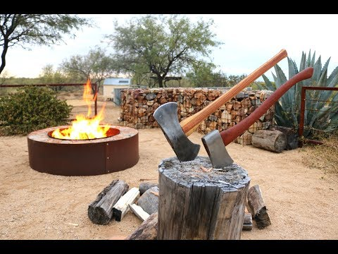 Axes, Wood & Fire - and family time!