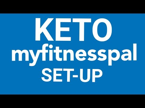How To Set Up Myfitnesspal For Keto