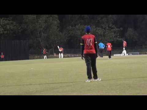 My hattrick at Kinara Oval, Malaysia Cricket Association